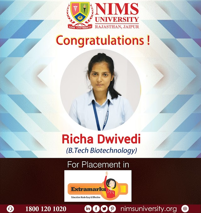 Placement in NIMS University