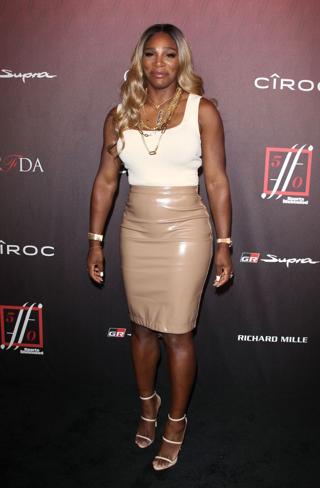 Serena Williams – 4th Annual Sports Illustrated Fashionable 50 Party in Los Angeles