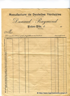 Dentelles Dunaud Raymond
