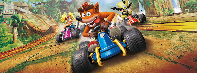 Game Crash Team Racing Game Masa Masih Kecil