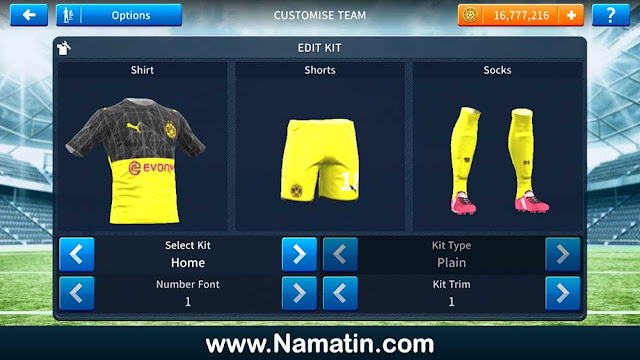 Url Baju Dream League Soccer BVB