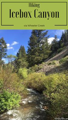 Icebox Canyon via Wheeler Creek