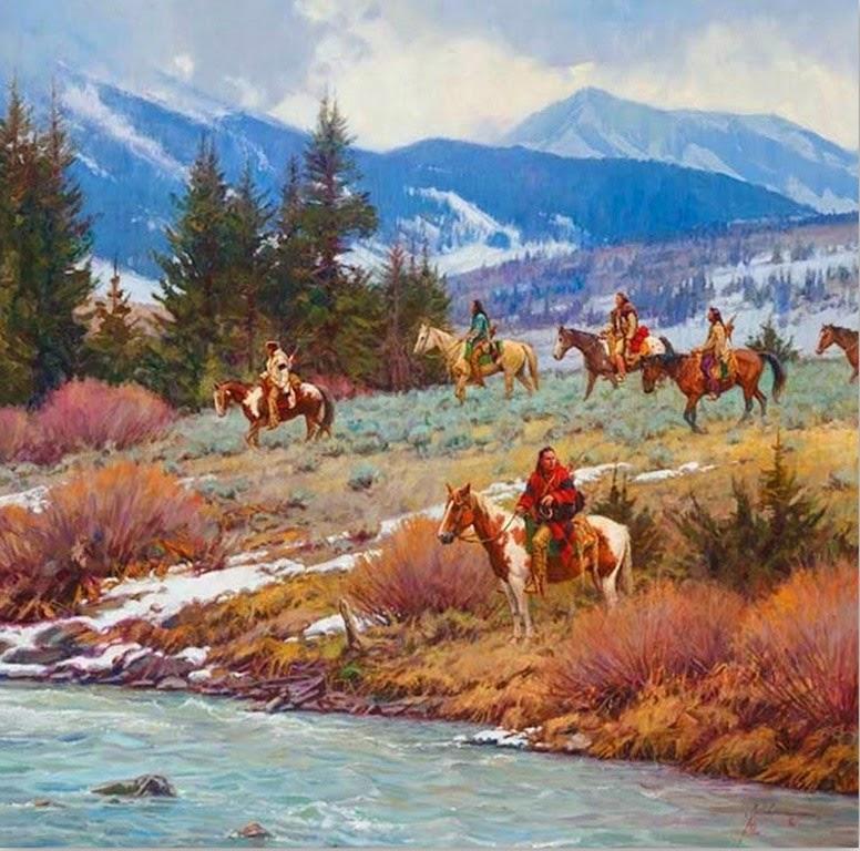 cuadros-al-oleo-paisajes-del-oeste-americano