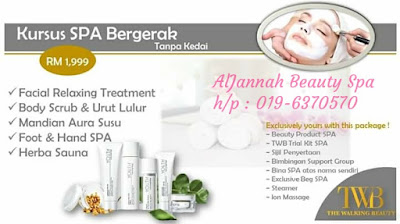 image result for kursus spa termurah the walking beauty