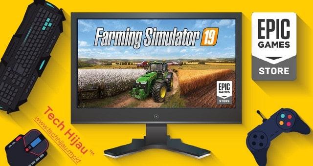 Farming Simulator 19 - Tech Hijau my id