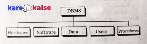 dbms invironment components