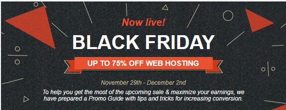 Siteground Black Friday 2019 Deal: Stunning 75% Discount