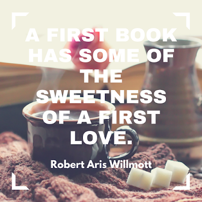 A first book has some of the sweetness of a first love. #books #readeveryday