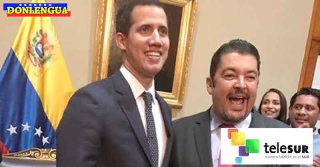 Guaidó designó a Roberto Marrero como nuevo presiente de TELESUR