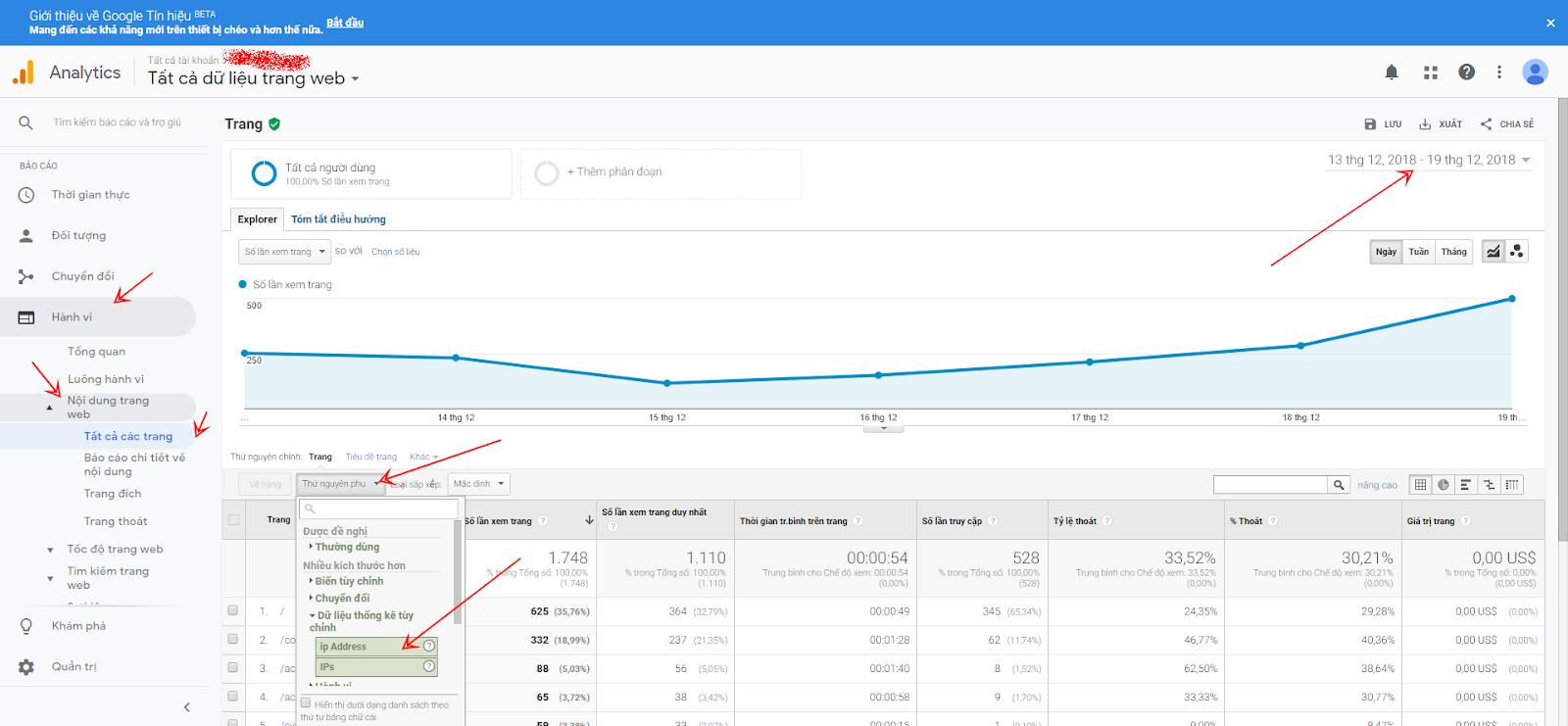 cách lấy IP của khách truy cập với Google Tag Manager