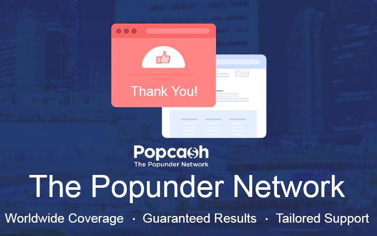Popcash ad network, earn money from own website, best google adsense ad network,