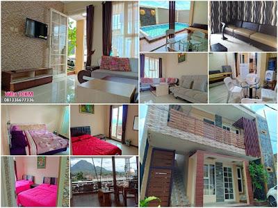 Villa 3 KM Di Batu Kolam Renang