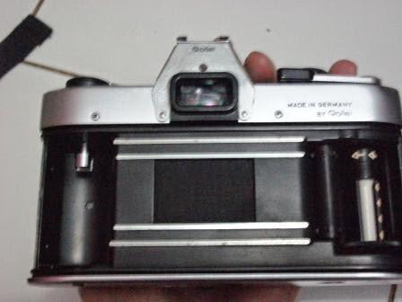 Rolleiflex SL35 tampak dalam