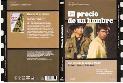 Carátula dvd: El precio de un hombre (1966)