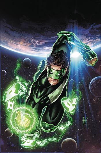 Kyle Rayner es un Green Lantern Corp