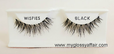 Ardell Invisibands Glamour Wispies Black Review and EOTD