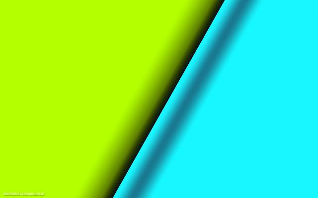 Simpele achtergrond abstract met blauw en groen
