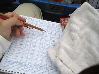 Japan scorekeeping