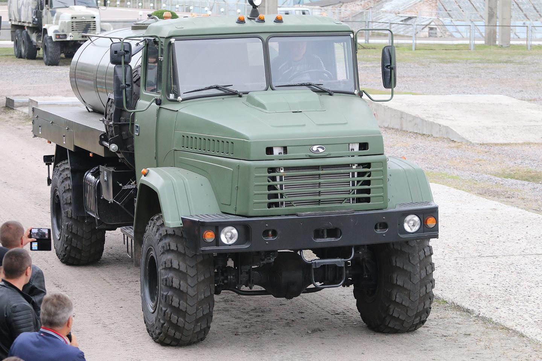 АЦП-5(5233) на шасі КрАЗ-5233ВЕ