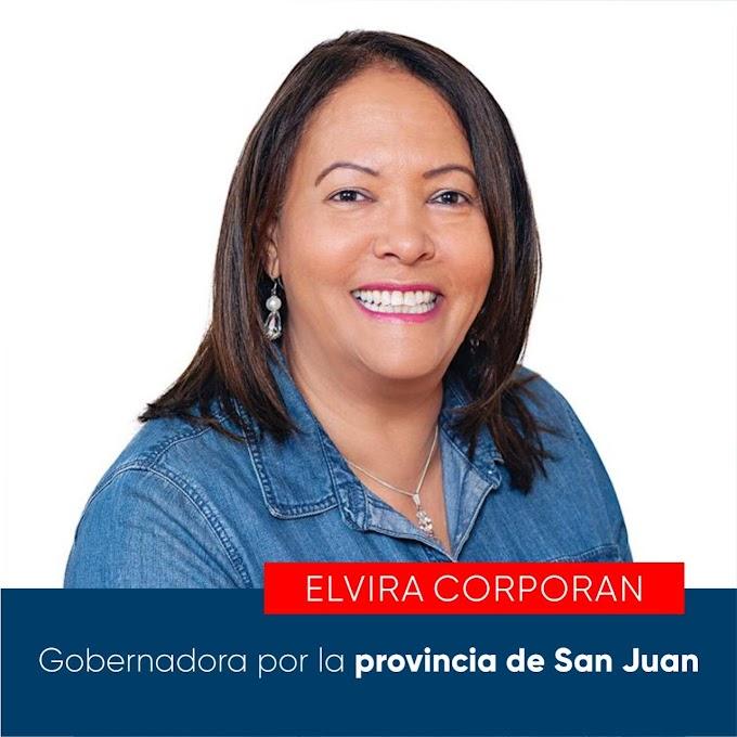 ELVIRA CORPORÁN ES DESIGNADA GOBERNADORA DE LA PROVINCIA SAN JUAN