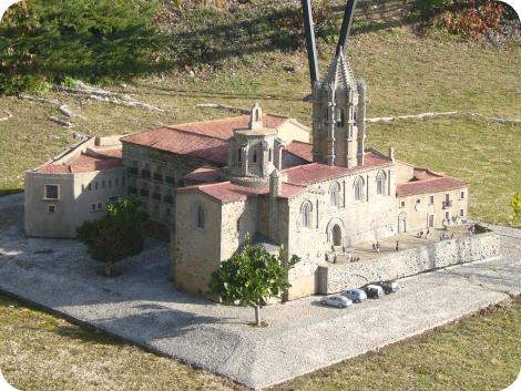 Maqueta del Monasterio de Vallbona de les Monges