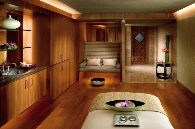The spa at Mandarin Oriental Spa