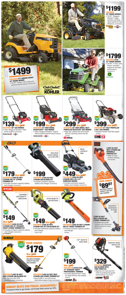 Home Depot Weekly Ad June 8 – 14, 2017 | Weekly Circular Ads