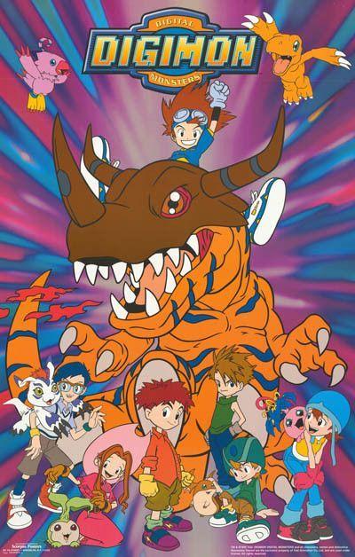Digimon (Serie Completa) + Peliculas  HDTV Latino