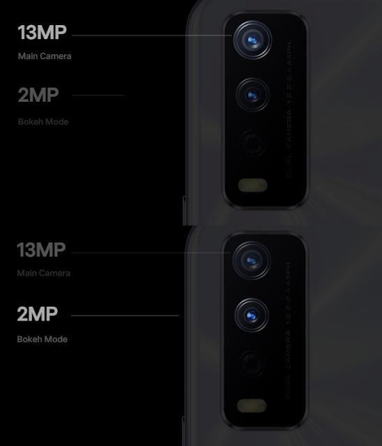 Vivo Y20i 6.51 inches 8MP Selfie and Triple 13MP main Night Camera 5G SmartPhone