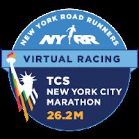 NYRR Virtual TCS NYC Marathon