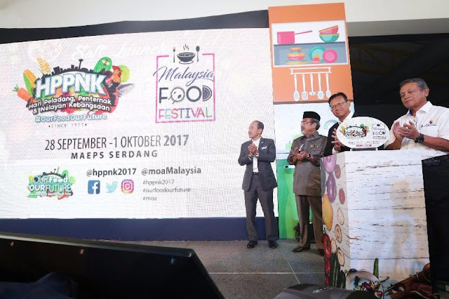 HPPNK2017, MOA, our food our future