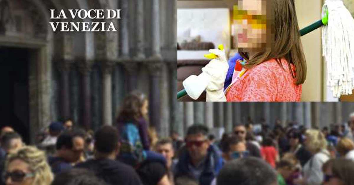 Francesca e la sua situazione nelle pulizie a Venezia