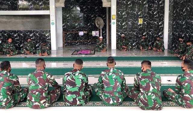 Kodim 0308/Pariaman Gelar Doa Bersama di Mushala Al Iqklas Makodim