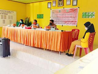Terealisasi Di 4 Kelurahan 15 Desa, Sosialisasi Kamtibmas Dan Cegah Covid-19 Kapoksek Bersama KKN Unco