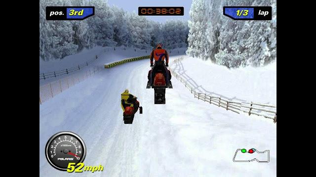 تحميل لعبة سباق موتسكلات علي الجليد Wanadoo SnowCross