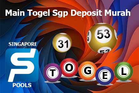 Main Togel Sgp Deposit Murah