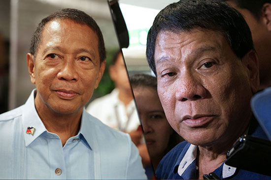 Vice President Jejomar Binay on Duterte's rape joke
