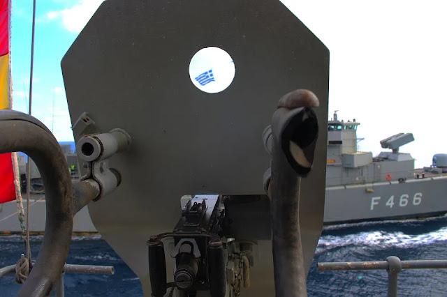 Ο Στόλος πιάνει ξανά τις «καυτές» περιοχές στο Αιγαίο
