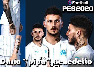 PES 2020 Faces Darío Benedetto by Gordoumbanda