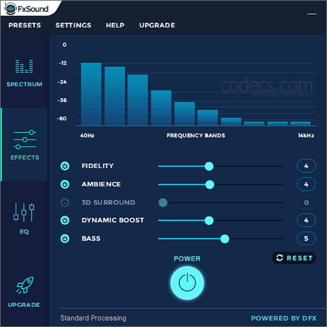 تحميل برنامج مضخم الصوت للكمبيوتر 2020 FxSound Enhancer