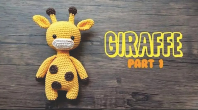 Monty the Giraffe Crochet stuffie CUSTOM COLOR by LoveDincy ... | 357x640