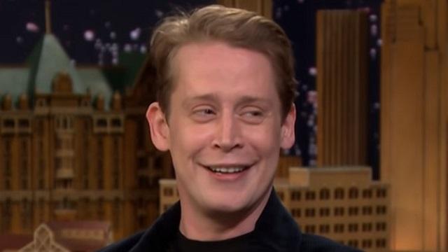 Macaulay Culkin no The Tonight Show Starring Jimmy Fallon/NBC/Reprodução