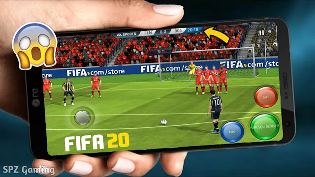 FIFA 20 MOD FIFA 16 Android Mobile Real Face Update Best Graphics