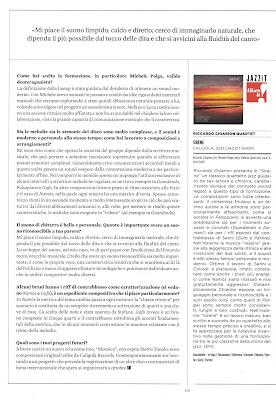Riccardo Chiarion - Jazzit Intervista