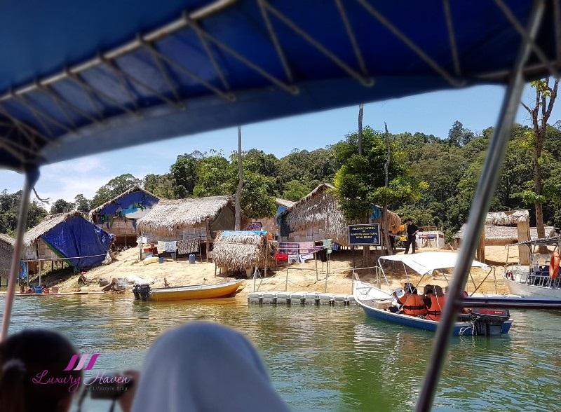 perak tourism sightseeing boats kampong aman damai