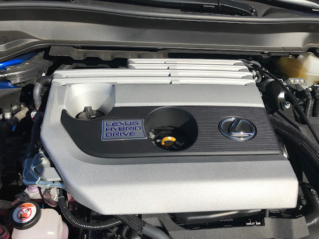 Hybrid powerplant in 2019 Lexus UX 250h F SPORT