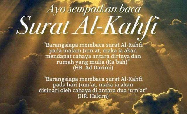 Mengapa Kita Dianjurkan Membaca Surat Al Kahfi Ayat 29? Ini Keutamannya