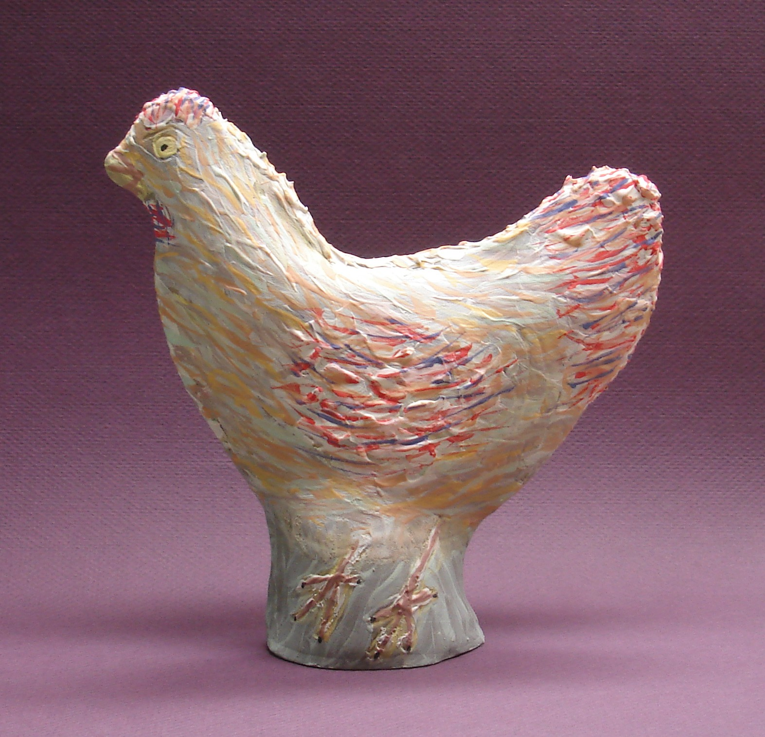 Blue Starr Gallery Chicken Little Or Henny Penny