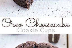 OREO CHEESECAKE COOKIE CUPS