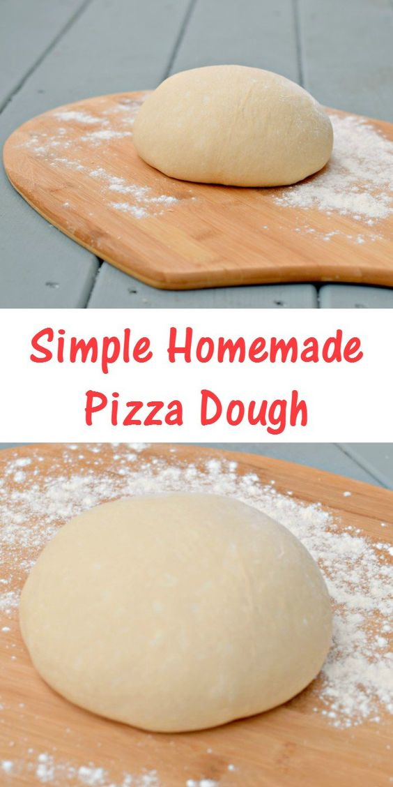 Simple Homemade Pizza Dough Recipe #recipes #pizza #pizzarecipe #food #foodporn #healthy #yummy #instafood #foodie #delicious #dinner #breakfast #dessert #lunch #vegan #cake #eatclean #homemade #diet #healthyfood #cleaneating #foodstagram
